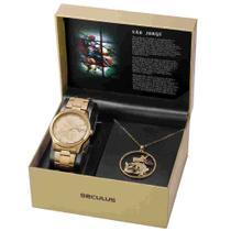 Relógio Feminino seculus são jorge 35019lpskda1k1 -