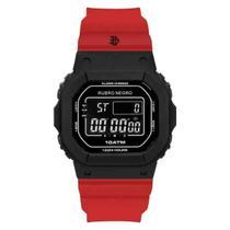 Relógio Flamengo Unissex Digital Vermelho FLA0300JB/8R -