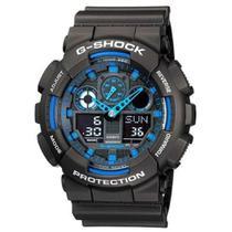3c5684bf7f5 Relógio G-Shock Anadigi Casio Masculino GA-100-1A2DR