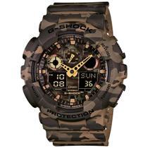 Relógio G-Shock Analógico GA-100CM -