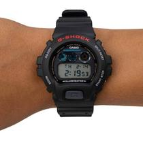 Relógio G-Shock DIGITAL Preto  DW-6900-1VDR - Cassio