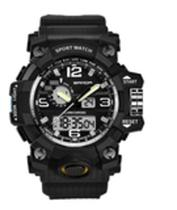 Relógio G-shock Esportivo 1805 - Dual Time - Black Top - C-Shock