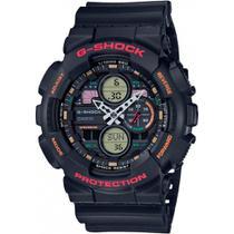 Relógio G-Shock GA-140-1A4DR Preto/Vermelho -