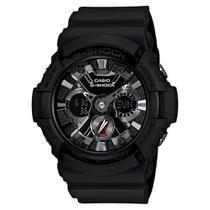 Relógio G-Shock GA-201-1ADR Masculino Preto -