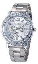Relógio Geneva 2626 Prata -