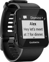 Relógio Gps Garmin Forerunner 35 Hr Preto Monitor Cardíaco -