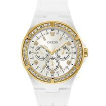 Relógio guess feminino 92688lpgsdu2 branco dourado -