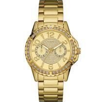 Relógio Guess Feminino Dourado 92591LPGSDA1 Analógico 3 Atm Cristal Mineral Tamanho Médio -