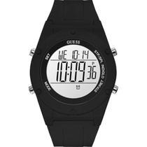 Relógio Guess Feminino Preto 92761L0GTNP1 Digital 3 Atm Cristal Mineral Tamanho Grande -