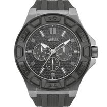 Relógio Guess Masculino Cinza 92587GPGSSU6 Analógico 10 Atm Cristal Mineral Tamanho Grande -