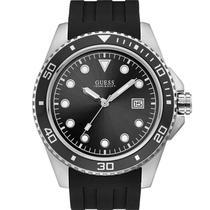 Relógio Guess Masculino Preto 92675G0GSNU2 Analógico 10 Atm Cristal Mineral Tamanho Médio -