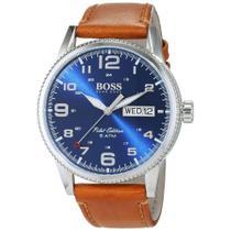 c63aa59915104 Relógio Hugo Boss 44mm Modelo 1513331 - Pulseira Em Couro