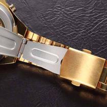 04df2c2df1d Relógio Importado Winner Skeleton Automático Ouro Dourado