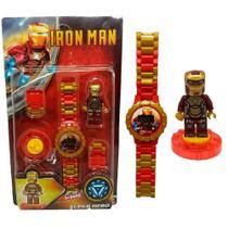 Relógio Infantil Homem De Ferro - Jzl