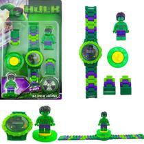 Relógio Infantil Hulk Vingadores - Jzl