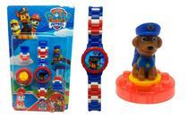 Relógio Infantil Patrulha Canina Chase - Jzl