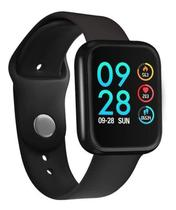 Relógio Inteligente Bluetooth Smart Watch P80 Preto - Sport