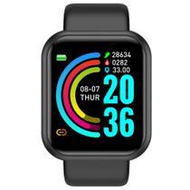 Relógio Inteligente D20 SmartWatch Y68 Preto -