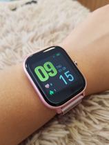 Relógio inteligente Da-Fit Smartwatch Frequência Cardíaca Monitor de Pressão Arterial Esporte Saúde Relógio Banda Para Android e IOS + Brinde -