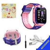 Relógio Inteligente Infantil Criança Rastreador Localizador C/câmera Anti-lost Sos Smartwatch - MJX