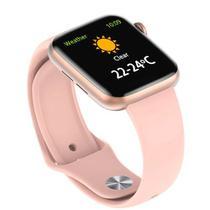 Relógio Inteligente Iw 12mmSmart Pedômetro E Cronômetro Rosa - Hamy