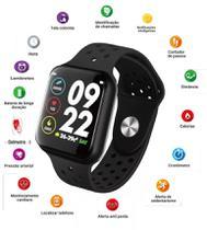 Relogio Inteligente Oximetro Batimento Pressao Mtr- 26 Corrida Batimentos Android/Ios - Tomate