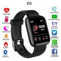 Relógio Inteligente Pulseira D13 Monitor Cardíaco Do Pulso - Smartbracelet - Lx