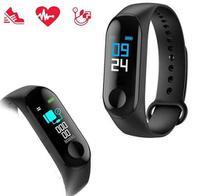 Relógio Inteligente Smartband M3 Monitor Cardíaco - Bgmstore