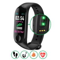 Relógio Inteligente Smartband Monitor Cardíaco Pressão - Monaliza