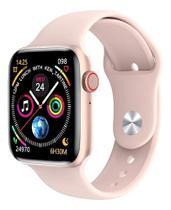 "Relógio inteligente smartwatch 12 lite ""pro"" w26 44mm android e ios tela infinita rose - Iwo"
