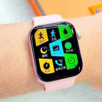 Relogio Inteligente Smartwatch AK99 1GB de Armazenamento Android iOS Bluetooth - Rosa - Smart Bracelet