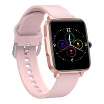 Relogio inteligente smartwatch android ios smart f2  pink - Sam