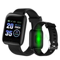 Relogio Inteligente Smartwatch D13 Preto Pedometro Multi-esportes Km  Sono - Lx