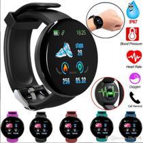 Relógio Inteligente Smartwatch D18 Bluetooth -