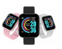 Relogio Inteligente Smartwatch D20 Monitor de batimentos cardíacos COR PRETO - Smart Bracelet D20 -
