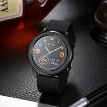 Relógio inteligente Smartwatch DT78 Preto presente uma pulseira verde militar - DT NO.1