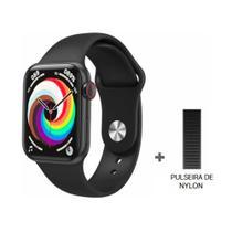 Relogio Inteligente Smartwatch HW18 40mm 2021 C/2 Pulseiras Android iOS Bluetooth - Preto - Smart Bracelet