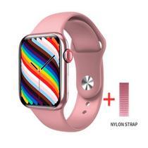 Relogio Inteligente Smartwatch HW19 44mm 2021 C/2 Pulseiras Android iOS Bluetooth - Rosa - Smart Bracelet