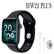 Relógio Inteligente Smartwatch HW22 Plus Android iOS Bluetooth - Preto - Smart Bracelet