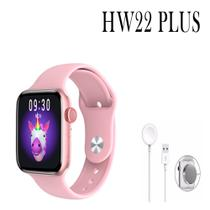 Relógio Inteligente Smartwatch HW22 Plus Android iOS Bluetooth - Rosa - Smart Bracelet