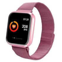 Relógio Inteligente Smartwatch P70 Android IOS LG Samsung -