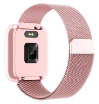 Relógio Inteligente Smartwatch P80 Esportes Monitor de Freqüência Cardíaca Para IOS e Android -