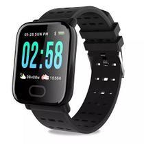 Relógio inteligente smartwatch pressão arterial e monitor cardíaco sport mtr-23 - Tomate