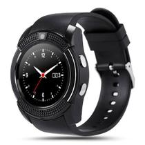 Relógio Inteligente Smartwatch V8 Sport Android Ios Chip Sd