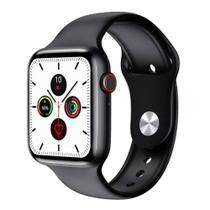 Relogio Inteligente Smartwatch W26 Tela Infinita Unissex Android iOS - Preto - Iwo