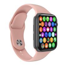 Relógio Inteligente SmartWatch W34 S Troca Pulseira Ligações Monitor Cardíaco Android e iOS - w34s