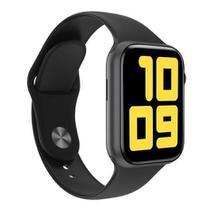 Relógio Inteligente SmartWatch X6 Plus Preto Android iOS Ligações Monitor Cardíaco Pressão - Smart Bracelet -