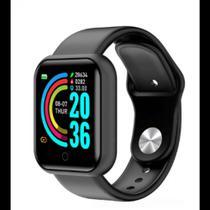 Relogio Inteligente Smartwatch Y68 Bluetooth Cores FitPro -