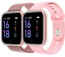 Relógio inteligente T80 IP67 Smartwatch Frequência Cardíaca Monitor de Pressão Arterial Esporte Saúde Relógio Banda Para Android e IOS - Smartwatch T80