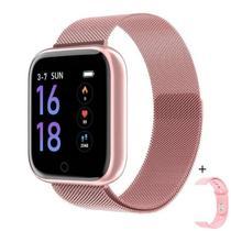 Relógio inteligente T80 IP67 Smartwatch Frequência Cardíaca Monitor de Pressão Arterial Esporte Saúde Relógio Banda Para IOS e Android -